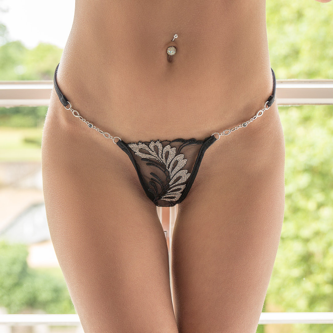 Lucky Cheeks SILVER MOON String