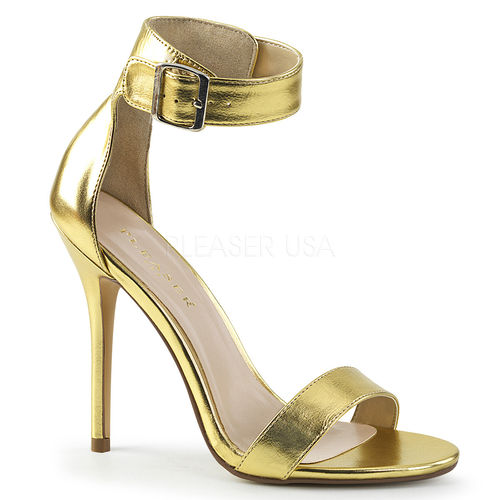 "5"" Stiletto Heels AMUSE gold"