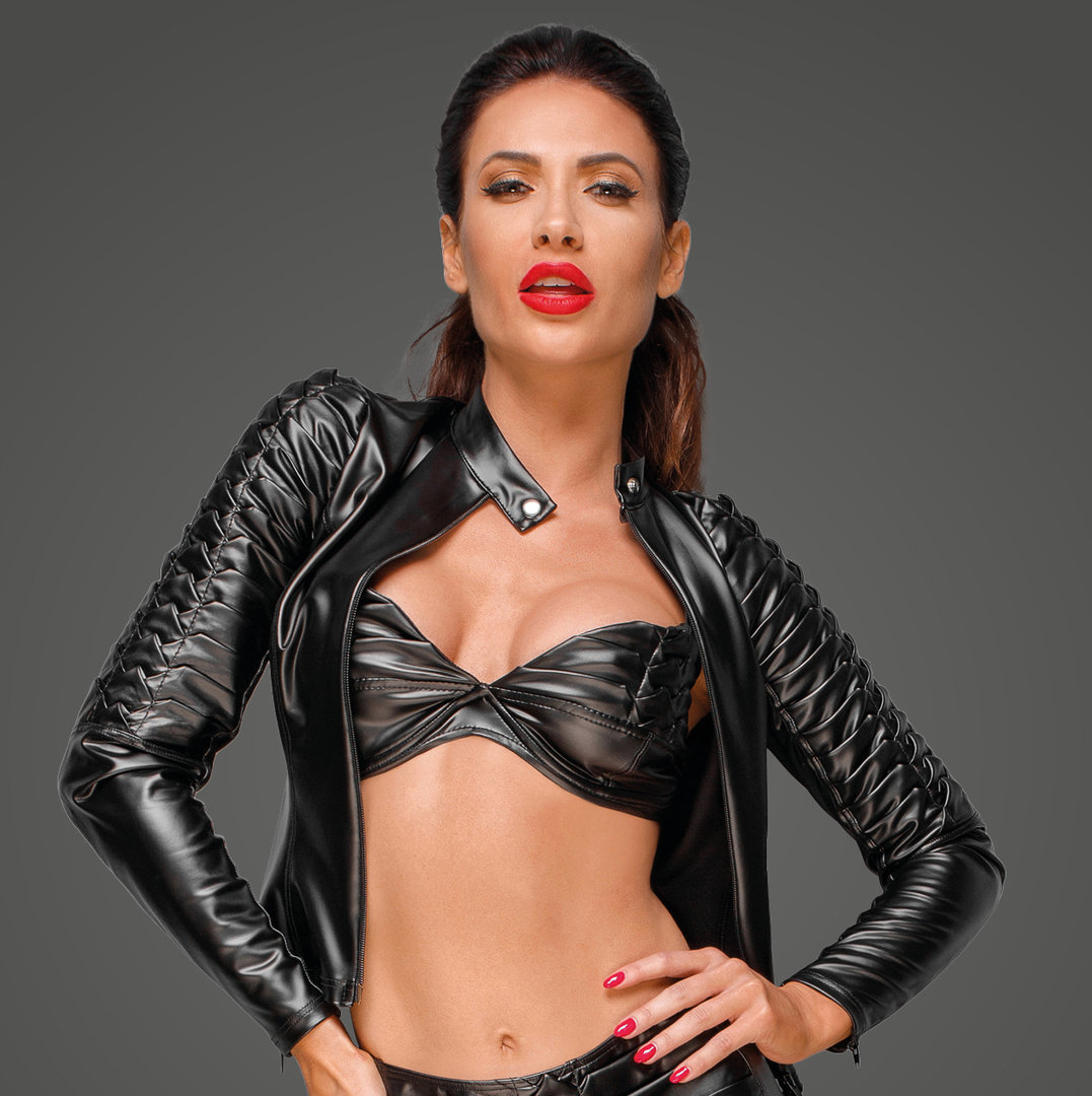 Powerwetlook Jacke Decadence